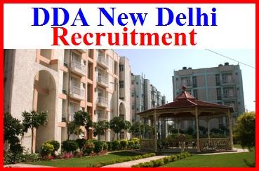 DDA Online Govt Jobs Form In Delhi on